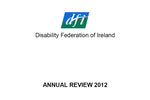 Disability Federation of Ireland Annual Review 2012