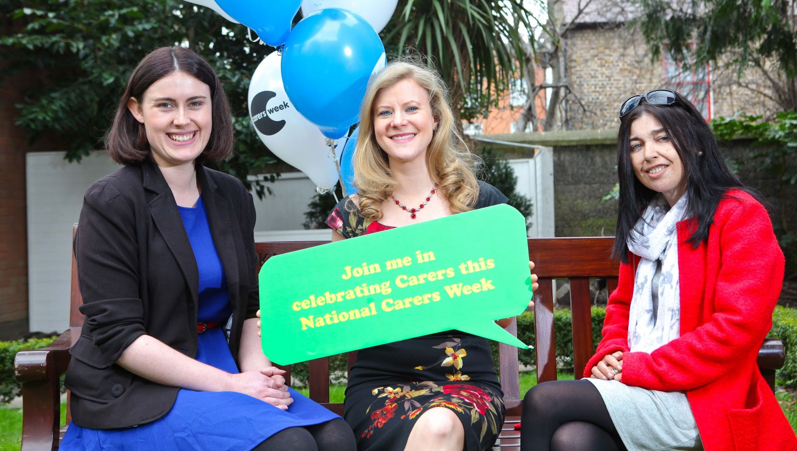 Carers Week image with Nuala Carey