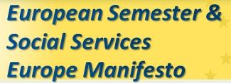 European Semester and Social Services Europe Manifesto