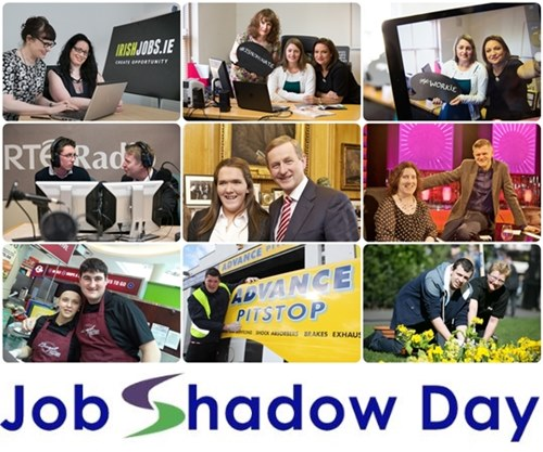 Job Shadow Day 22 April 2015