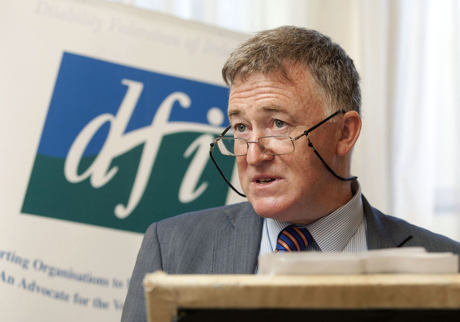 John Dolan, CEO, DFI at Buswells Event, 9th July 2014