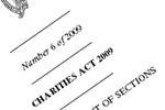 Formal Establishment of the CRA and commencement orders for the Charities Act 2009