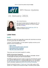 DFI News Update Issue 3 2021